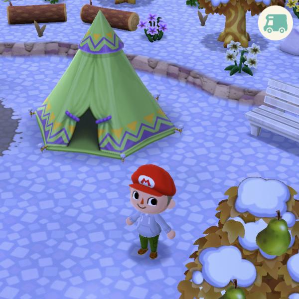 カントリー系のテント