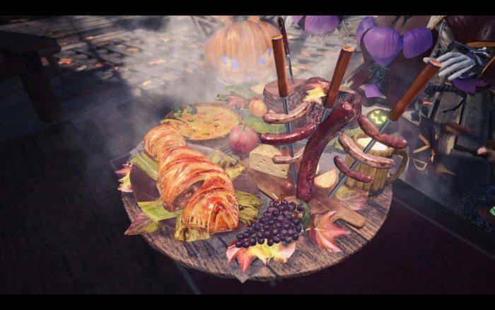 秋の味覚たっぷりのゴージャスな「【豊穣の宴】定食」