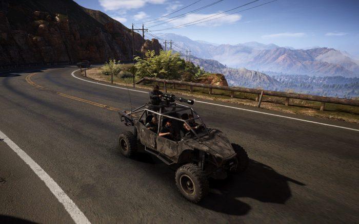 イケメン4人がオープンカーでドライブするゲームといえばコレ!