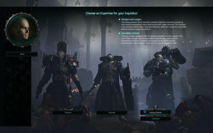 Warhammer 40000らしい重量感のある鎧が特徴的な「Crusader」