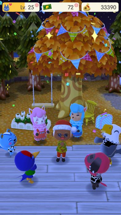 オブジェが完成すればキャンプにいる動物たち全員とのなかよし度がアップ!