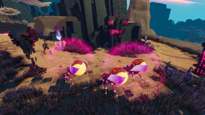 迫りくる敵からCrusibleを防衛する「Siege」。