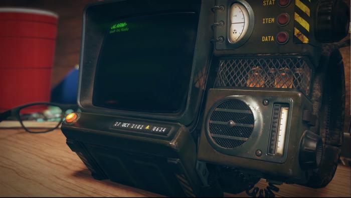 Fallout76のPip-Boyのアラーム