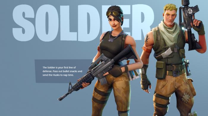 『SOLDIER』は重火器での戦闘を得意とするクラス 敵をまとめて攻撃するグレネードや、周囲の味方を一時的に強化するスキルなど戦闘に特化したスキルを使うことができます。