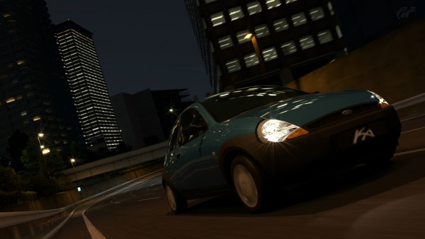 """スタンダードカーである""""フォード カー '01""""を撮影。文字が荒く見える。"""