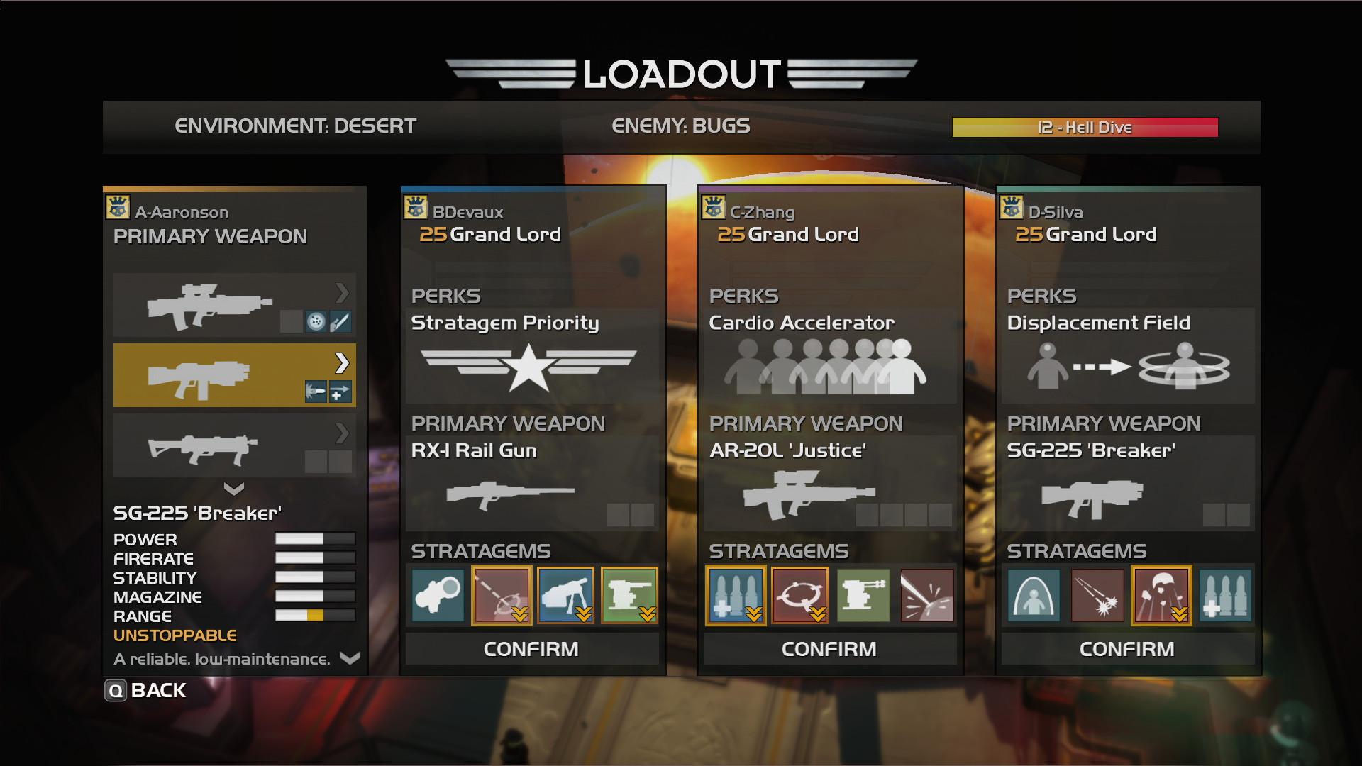 武器や戦略支援が選択&強化可能!