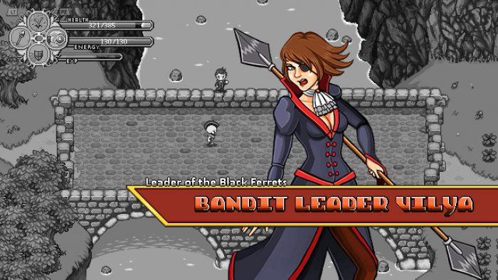 すべてのキャラクターにはイラストや顔グラフィック用意されている。