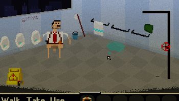 Shower With Your Dad Simulator 2015 刑事アドベンチャー風のゲーム