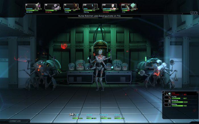 非常によく動く2Dで描かれた敵キャラクターが好印象。