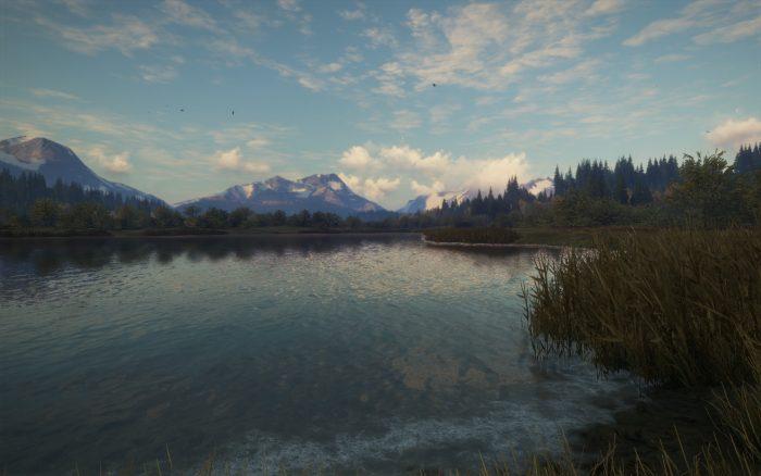 美しい湖が点在する『Layton Lake District』