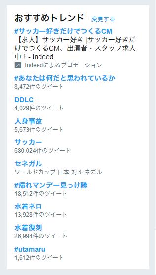 ツイッター DDLC