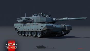 "War Thunder ""Type 90""(90式戦車)"