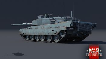 "War Thunder ""Type 90""(90式戦車)"