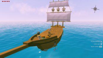 ylandsの船
